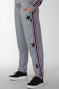 Stars W/ Taping Sweatpants
