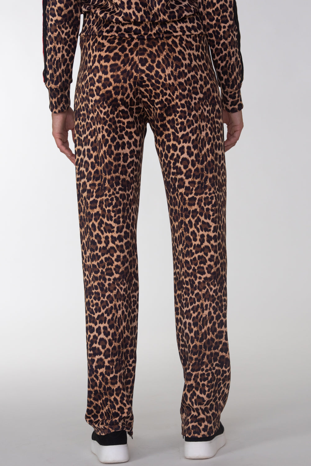 Leopard W/ Taping Track Pants