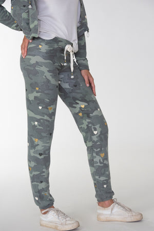 Camo Hearts Sweatpants
