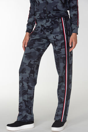 Camo W/ Taping Track Pants