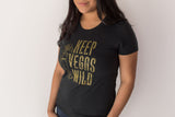 Keep Vegas Wild T-shirt (Womens)