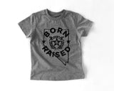 Born and Raised Nevada T-Shirt (kids)