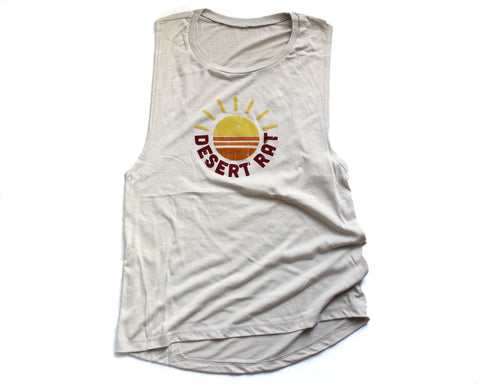 Desert Rat Muscle Tank (Womens)