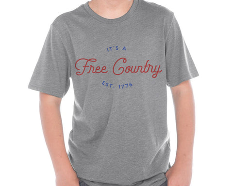 Free Country Fourth of July t-shirt (Youth)