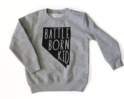 Battle Born Kid Pullover (kids)