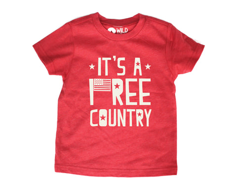 Free Country Fourth of July t-shirt (kids)