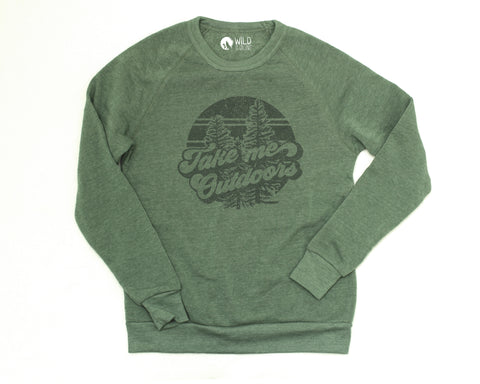 Take Me Outdoors Pullover (unisex)