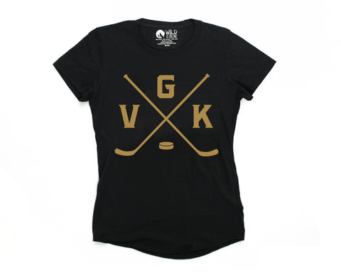 VGK Knights T-shirt (Womens)