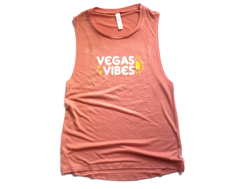 Vegas Vibes Muscle Tee (Womens)