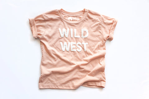 Wild West Peach T-shirt (kids)