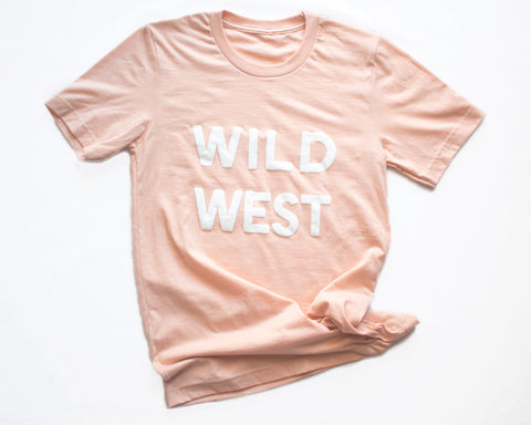 Wild West Peach T-shirt (unisex)