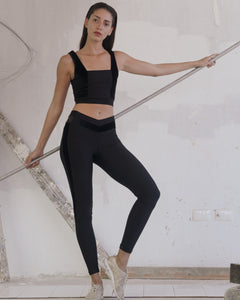 The Back in Black Legging