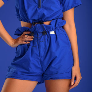The Ava Short in Blue