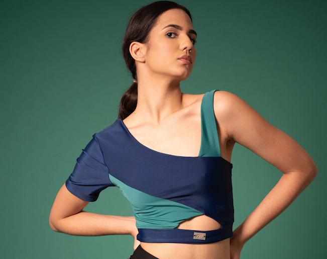 The Esmerald Cropped Top