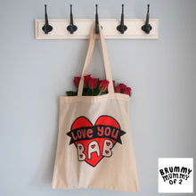 Load image into Gallery viewer, 'Love You Bab' Tote Bag