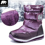 '-30 degree Russia winter warm baby shoes , fashion Waterproof children's shoes ,  girls boys boots perfect for kids accessories