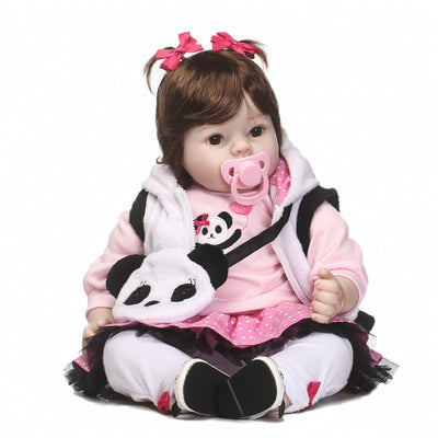 NPK Bebe girl reborn dolls realistic silicone reborn baby toddler dolls for children xmas gift birthday present play house toys