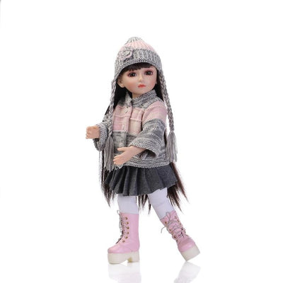 "18"" dolls Like American girls dolls  1 beautiful Princess Doll Girl Toys high-end gifts"