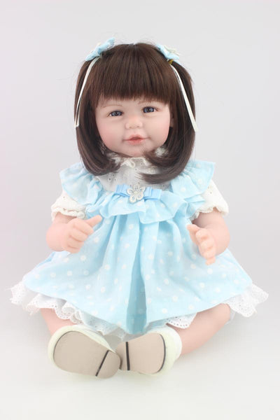 "22""/52cm Handmade Adora Doll for Kids Realistic Soft Silicone Reborn Baby Dolls Brinquedos Juguetes Early Educational Toy"