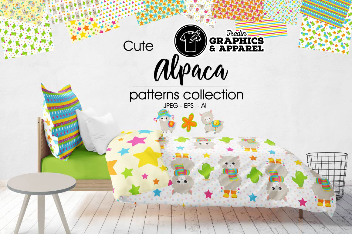 Alpaca Patterned HTV