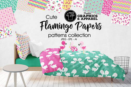 Flamingo Papers Patterned HTV