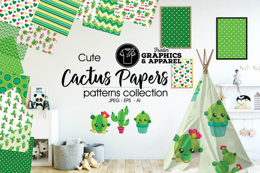 Cactus Papers Patterned HTV