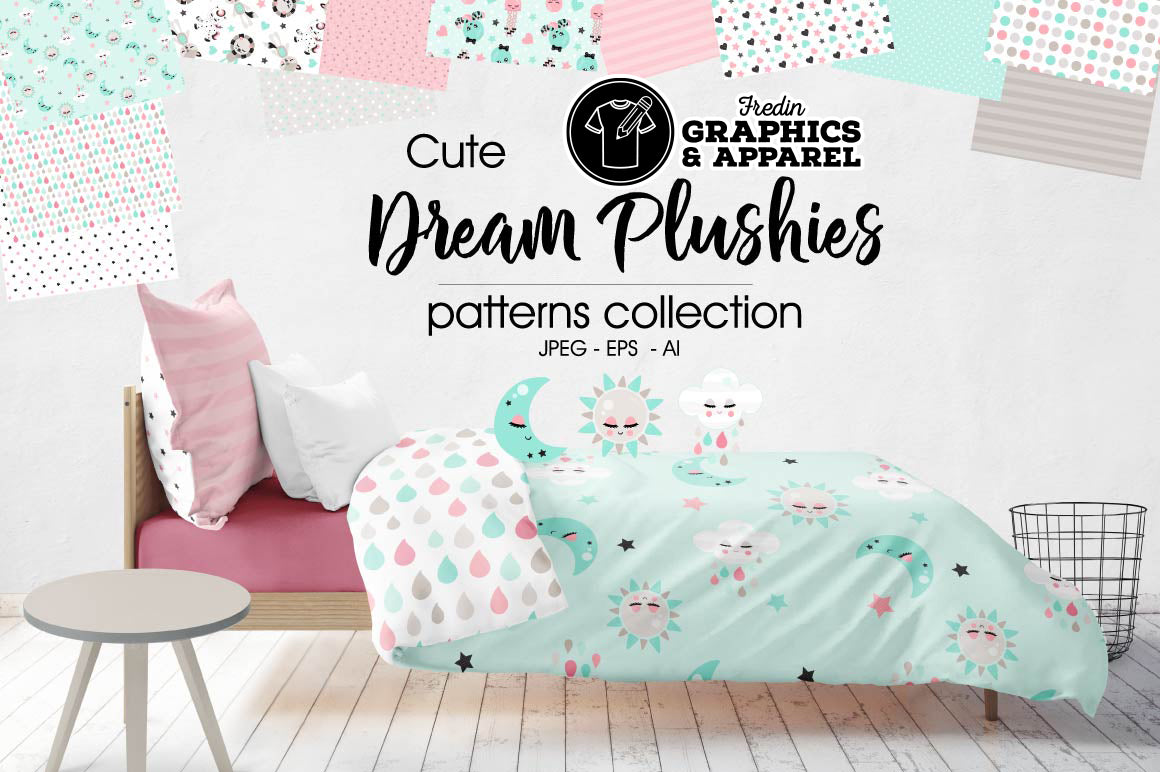 Dream Plushies Patterned HTV
