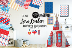 Love London Patterned HTV