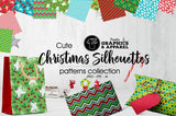 Christmas Silhouettes Patterned HTV