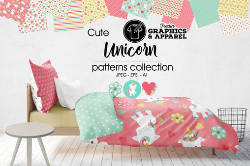 Unicorn Patterned HTV