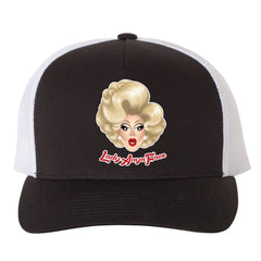 Lady Anya Face - Logo Trucker hat