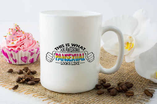 This is what an awesome Pansexual Looks like Mug