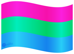 Polysexual Flag Decal
