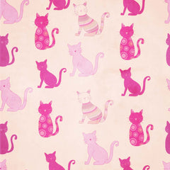 Here Kitty Patterned HTV