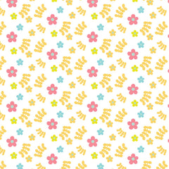 Spring Butterflies Patterned HTV