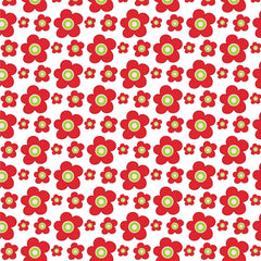Christmas Floral Patterned HTV