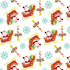 Santa Claus Patterned HTV