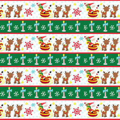 Santa's Sleigh Patterned HTV