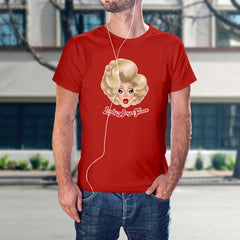 Lady Anya Face - Logo shirt