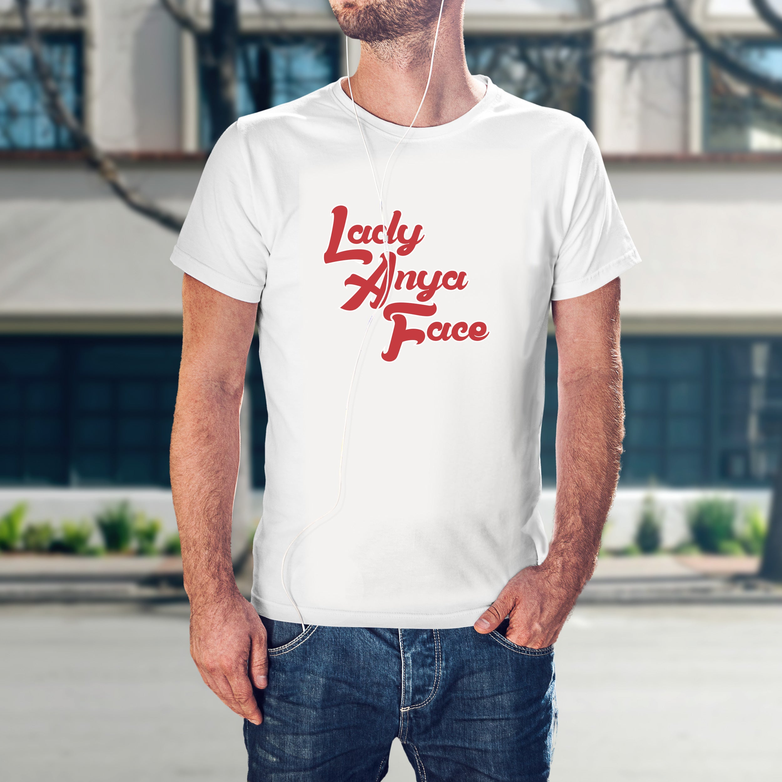 Lady Anya Face - Name shirt