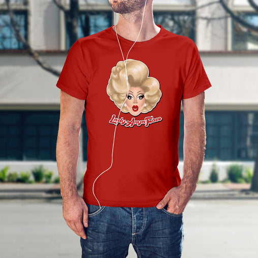 Lady Anya Face - Logo 2 shirt
