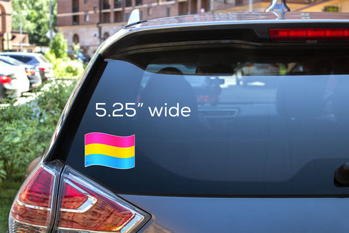 Pansexual Flag Decal