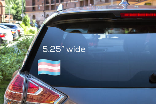 Trans Flag Decal