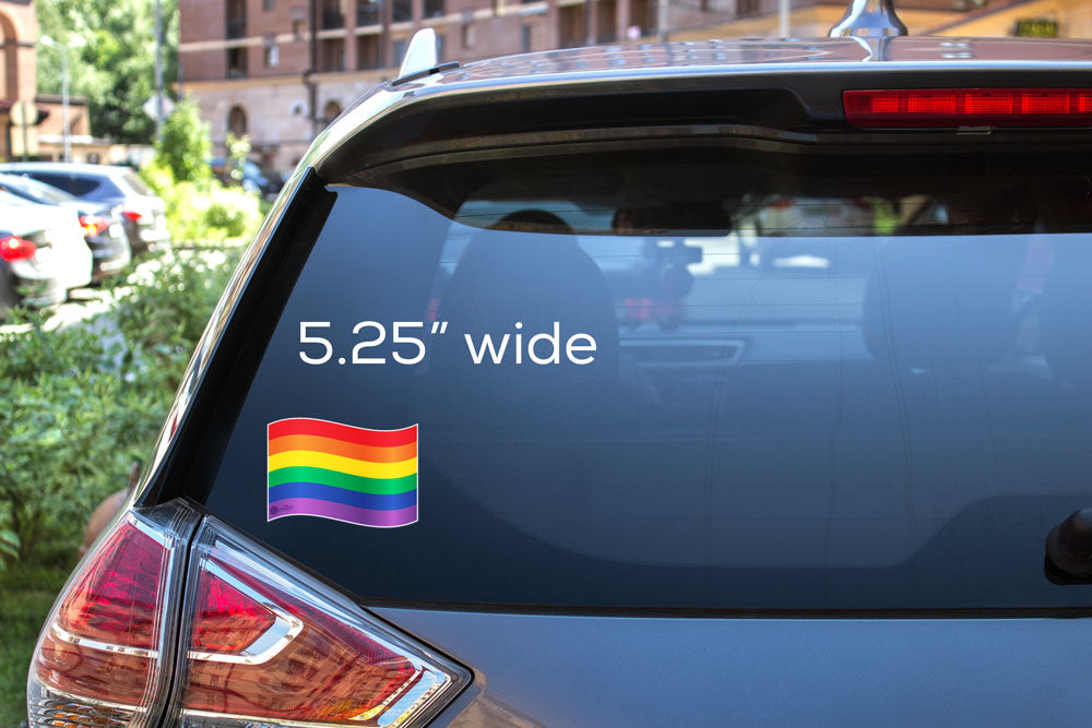 Pride Flag Decal