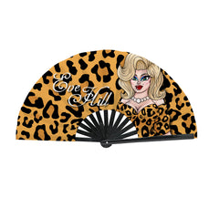 Eve Hill CLACK Fan - Logo Cheetah