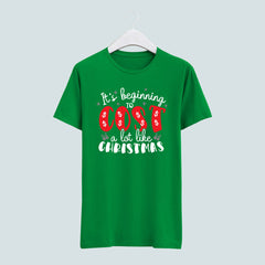 It's Beginning to Cost a lot like Christmas tee