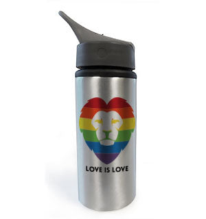 Love is Love Lion Water Bottle