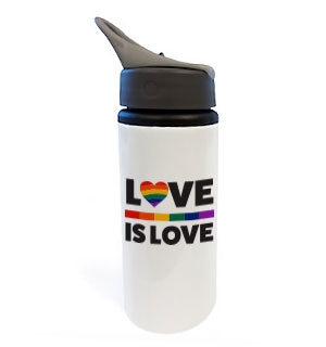 Love is Love Water Bottle