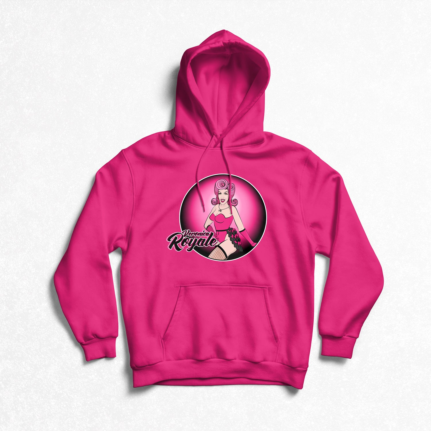Veronica Royale - Round logo Hoodie