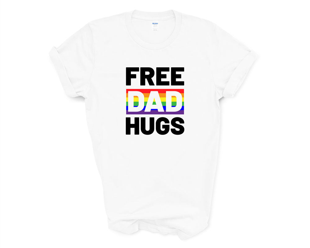 Free Dad Hugs Cut Out